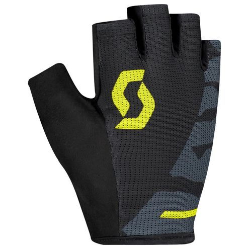 Scott Aspect Sport Gel SF 2019 dark grey/sulphur yellow rukavice