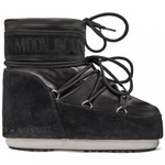 MOON BOOT CLASSIC LOW SATIN BLACK